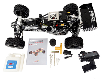 1/5 Scale 2019 KSRC-002 30.5cc Gas RTR Deluxe Baja Buggy (wild gray)