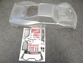 T1000 Truck Body (clear) Fits HPI Baja 5T