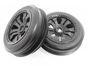 1/5 Scale Baja Buggy Front Sand Wheels & Tires (2)