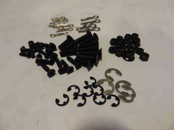 Spare Screw, Nut, Pins, E Clip Assortment Kit