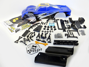 5B to 5T Truck Conversion Kit & Body (blue)