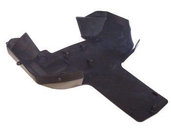 King motor T1000 Rear Plastic Truck Under Guard Skid Plate