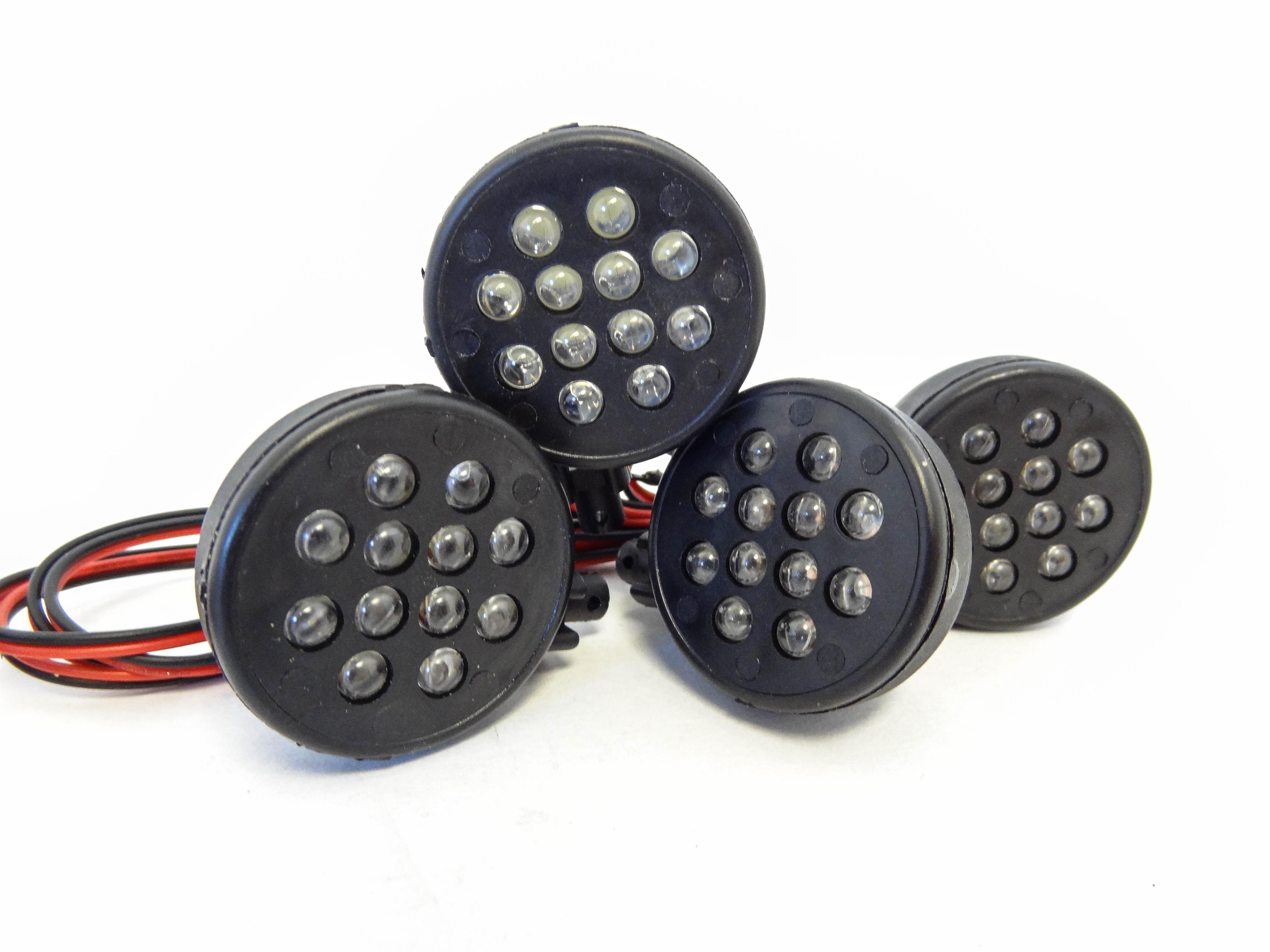 Baja 5T LED Truck Lights (set of 4) with Rear Tail Lights