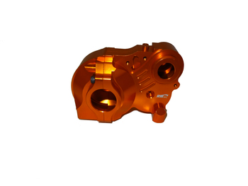 CNC Aluminum 3 Piece Baja Transmission (orange)