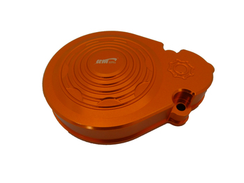 CNC Aluminum Gear Cover (orange)