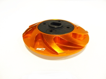 Baja CNC Aluminum Spur Gear Holder (orange)