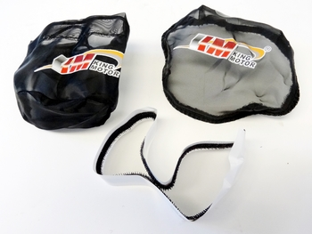 Pull Start & Air Filter Outer Ware Set (black)