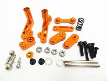 Baja Aluminum Steering Wiper Arm Kit  (orange)