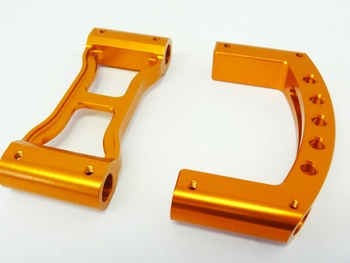 Aluminum Roll Cage Quick Disconnects (orange)
