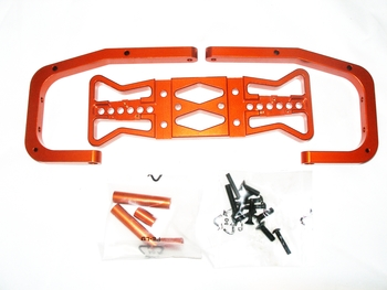 Aluminum Rear Bumper (orange)