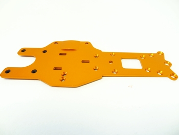 Baja Rear Lower Chassis Frame Plate (orange)