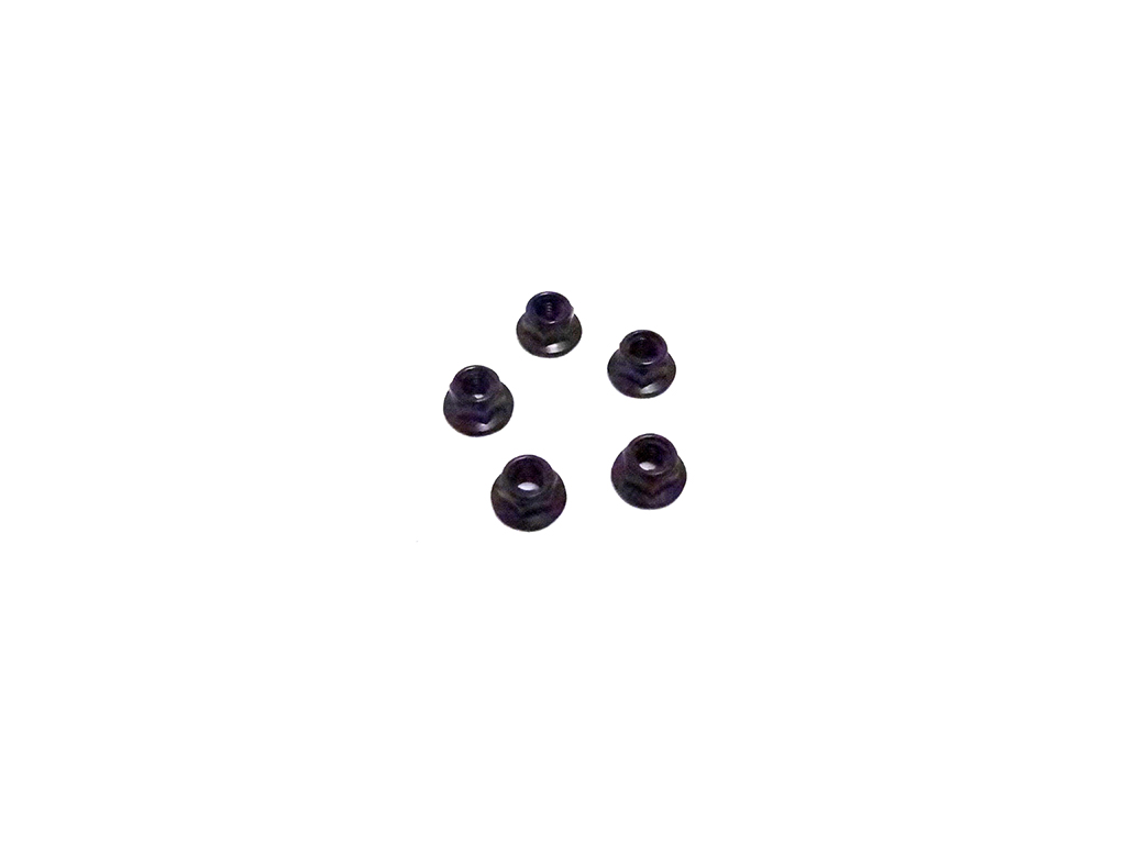 M5 Flanged Lock Nut Pack of 5