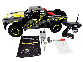 1/6 Scale Challenger Brushless Ready-To-Run Short Course Truck