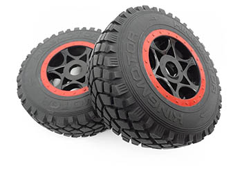 1/8 Scale King Motor Explorer 1 & 2 Wheels Rims Tires foams w/ 17mm Hex