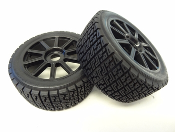 1/7 Scale King Motor Explorer RX, RX2 Wheels Tires, foams, 17mm Hex Rims