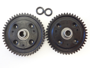 1/7 Scale King Motor RX, RX2 Nylon Gear Set (46T/48T)