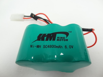 King Motor Baja 4800MAH NIMH 6V Battery