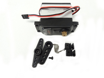 King Motor Baja Round Edge 35KG High Torque Servo KM3318 With Plastic Arm