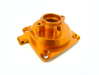 Baja Enclosed Aluminum Alloy Clutch Bell Support Brace (orange)