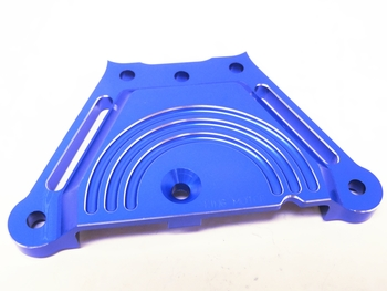 X2 CNC Aluminum Front Chassis Steering Brace (blue)