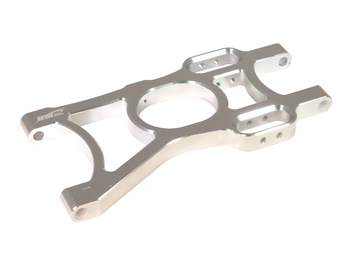 T2000 CNC Aluminum Left Rear Lower A-Arm (silver)