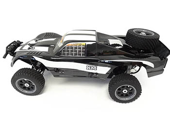 1/5 Scale RTR King Motor T1000A Deluxe Desert Truck 34cc HPI Baja 5T Compatible (black)