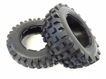 Front T1000 Knobby Tires (Set of 2)