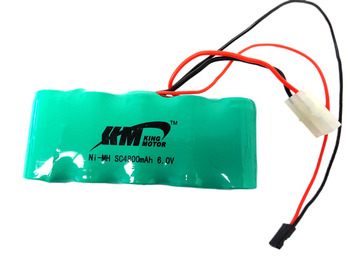 King Motor X2 4800 mAh 5-cell 6.0v NiMH Battery