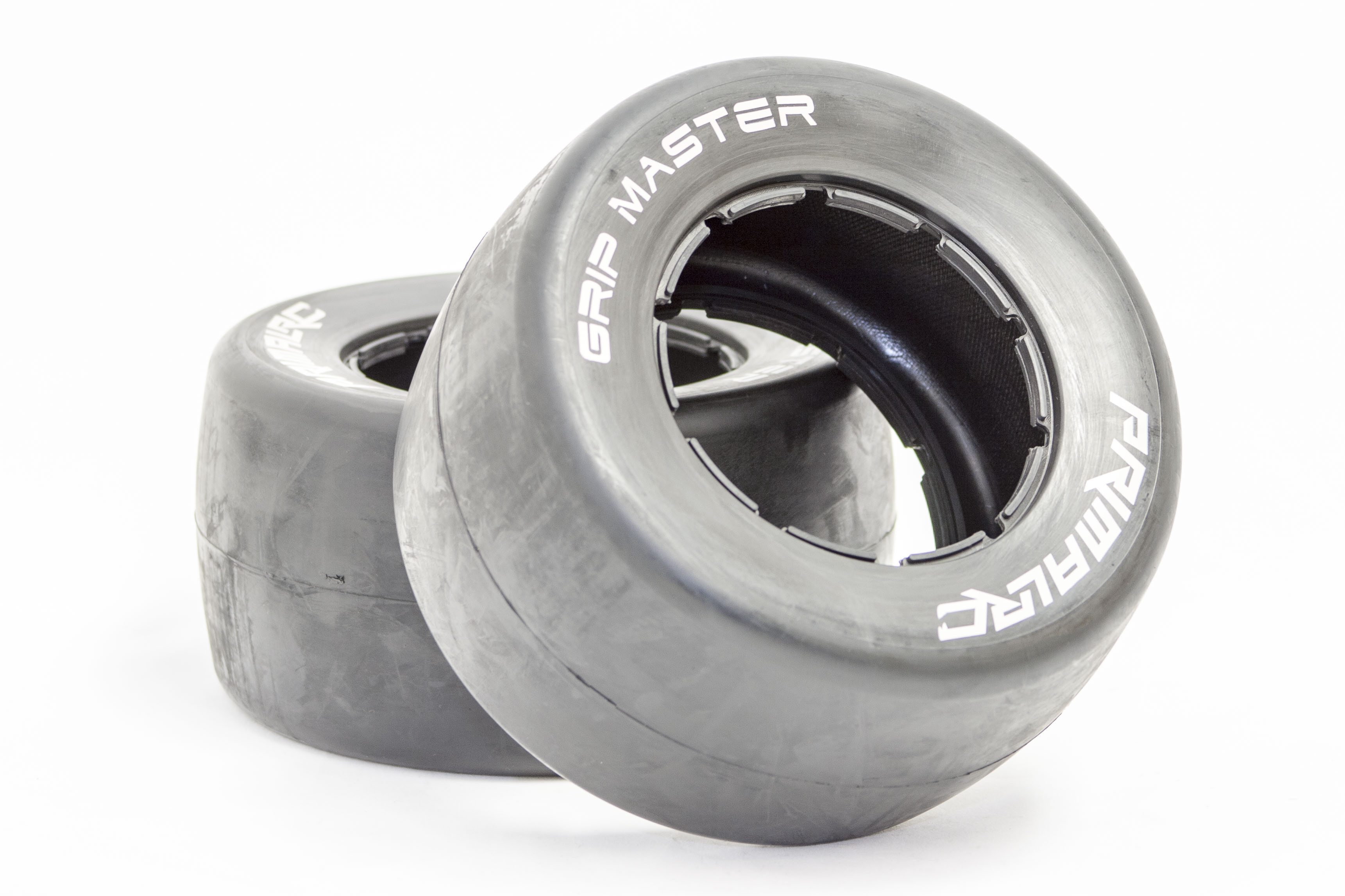 Primal RC QuickSilver Rear Racing Slick Belted Tires (set of 2)