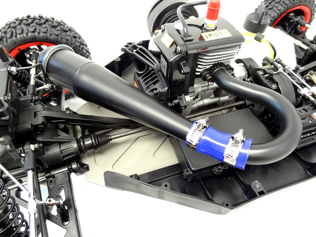 Bruiser RC Sidewinder Tuned Exhaust Pipe