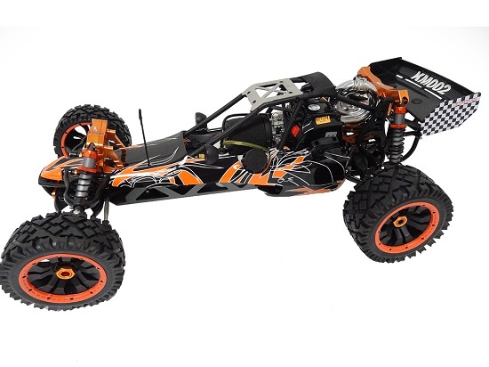1/5 Scale KSRC-002 30.5cc Gas RTR Deluxe Baja Buggy (wild orange)
