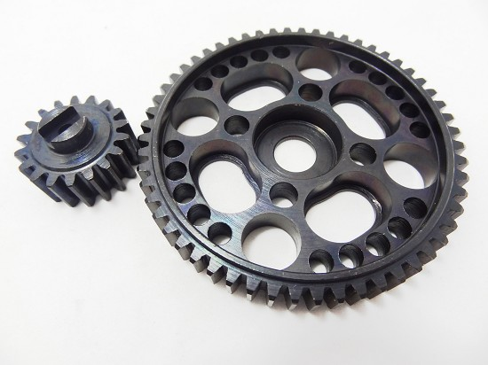 Baja Steel 56 Spur Gear and 18 Tooth Pinion