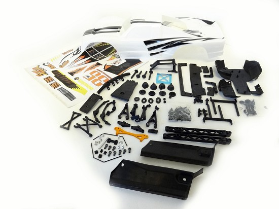 5B to 5T Truck Conversion Kit & Body (white)