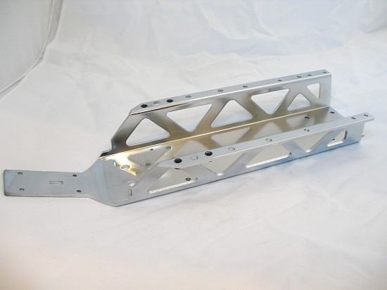 Aluminum Frame, Chassis (chrome plated)