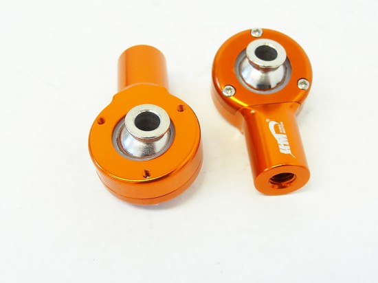 Aluminum Alloy Front Upper Ball Ends (orange)