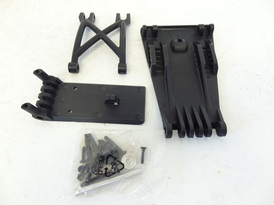 T1000 Baja 5T Skid Plate Bumper Part Set