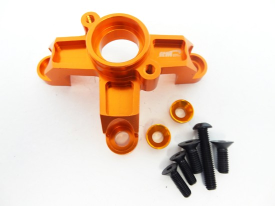 Baja Aluminum Clutch Bell Support Brace (orange)