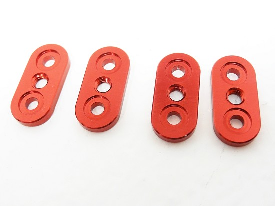 X2 Front/Rear Sway Bar Mounts (red) (set of 4)