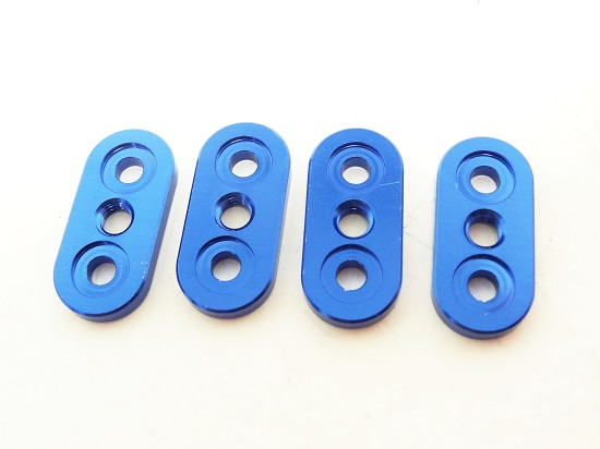 X2 Front/Rear Sway Bar Mounts (blue) (set of 4)