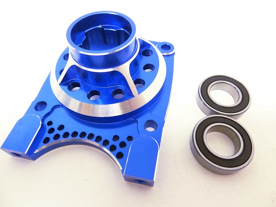 X2 CNC Aluminum Vented Clutch Housing (blue)