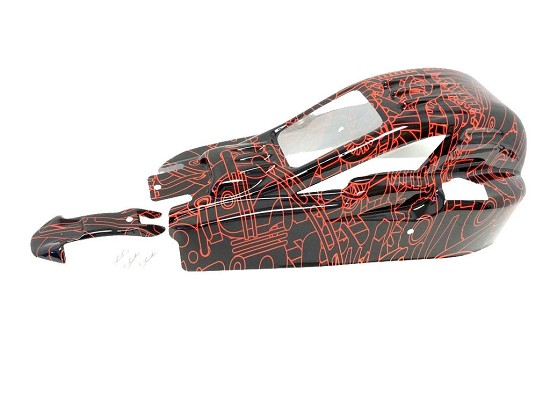 Tango 1/5 Baja Buggy Body Kit (wild red)