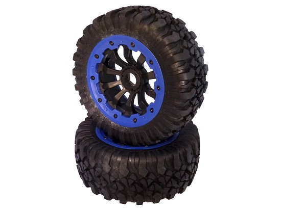 X2 Wheels (blue) (set of 2)